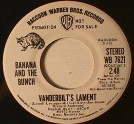 Banana and the Bunch - Vanderbilt's Lament