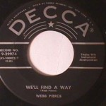 Webb Pierce - Any Old Time/ We'll Find a Way