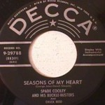 Cooley, Spade and his Buckle-Busters - No Need to Cry anymore/ Seasons of My Heart