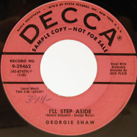 Georgie Shaw - I'll Step Aside/The Water Tumbler Tune