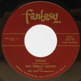 Pete Terrace Quintet - Dinah/Invitation