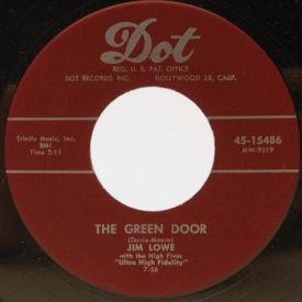 Jim Lowe - The Green Door/The Little Man In Chinatown
