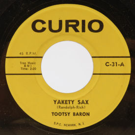 Tootsy Baron/Rob Robbins - Yakety Sax/Love Letters
