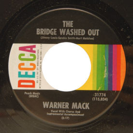 Warner Mack - The Bridge Washed Out/The Biggest Part Of Me