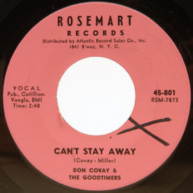 Don Covay & The Goodtimes - Can't Stay Away/Mercy, Mercy