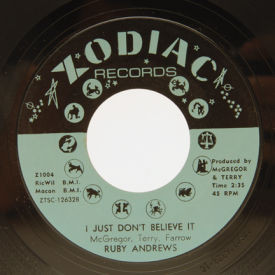Ruby Andrews - I Just Don't Believe It/Casonova