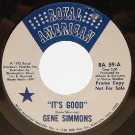 Gene Simmons - It's Good