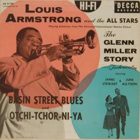 Louis Armstrong - Basin Street Blues/Otchi-Tchor-Ni-Ya