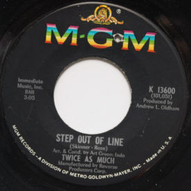 Twice As Much - Step Out Of Line