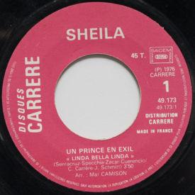 Sheila - Un Prince En Exil