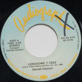 Darrell Clanton - Lonesome 7-7203