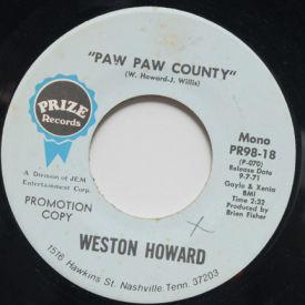 Weston Howard - Dear Judy/ Paw Paw County