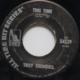 Troy Shondell - This Time/Tears From An Angel