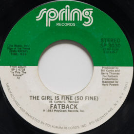 Fatback - The Girl Is Fine (So Fine)