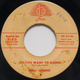 Bobby Freeman - Big Fat Woman/Do You Want To Dance