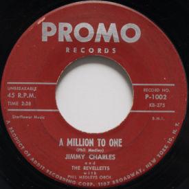 Jimmy Charles - A Million To One/Hop Scotch Hop