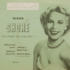 Dinah Shore - Hits From The King And I