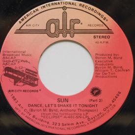 Sun - Dance, Let's Shake It Tonight