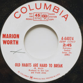 Marion Worth - Old Habits Are Hard To Break/Especially You