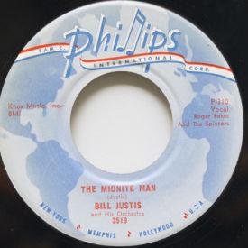 Bill Justis - The Midnite Man/Raunchy