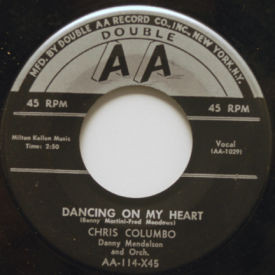 Chris Columbo - Dancing On My Heart/Lonely Street