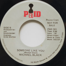 Michael Black - Girl You Don't Know Me/Someone Like You