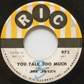 Joe Jones - You Talk Too Much/I Love You Still