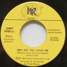 Jimmy Roselli - Why Did You Leave Me/My Way