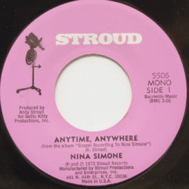 Nina Simone - Anytime, Anywhere/Sunday In Savannah
