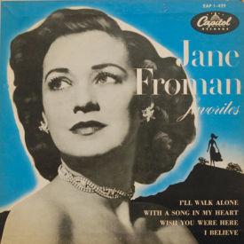Jane Froman - Jane Froman Favorites