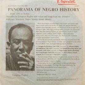 Langston Hughes - Panorama Of Negro History