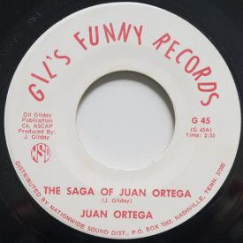 Juan Ortega - The Saga Of Juan Ortega/I've Got A Heart On