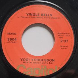 Yogi Yorgesson - Yingle Bells/I Yust Got Nuts At Christmas – MONO