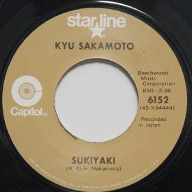 Kyu Sakamoto - Sukiyaki/Tankobushi
