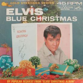 Elvis Presley - Blue Christmas/Wooden Heart