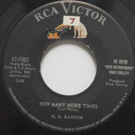 H.B. Barnum - How Many More Times/Baby, Baby, Baby
