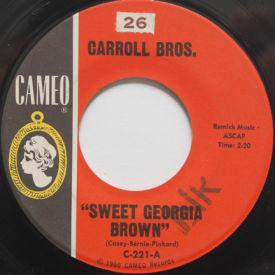 Carrol Bros. - Sweet Georgia Brown/Boot It!