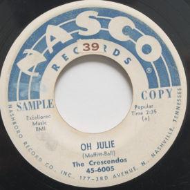 Crescendos - Oh Julie/My Little Girl