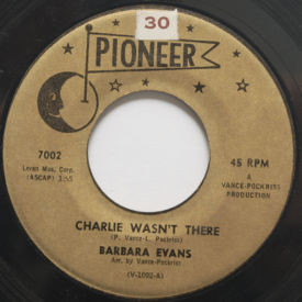 Barbara Evans - Charlie Wasn't There/Nothing You Can Do
