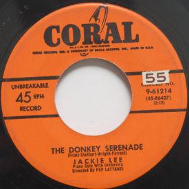Jackie Lee - The Donkey Serenade/Mr. Hot Piano