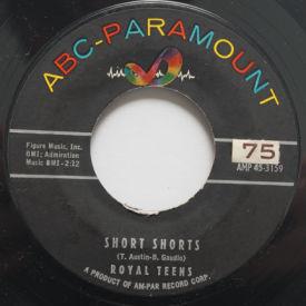 Royal Teens - Short Shorts/Planet Rock