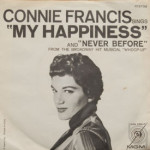 Connie Francis - My Happiness/Never Before
