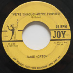 Jamie Horton - We're Through We're Finished/Robot Man