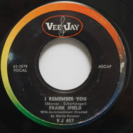 Frank Ifield - I Remember You/Listen To My Heart