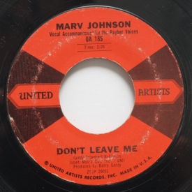 Marv Johnson - Don't Leave Me/You Got What It Takes