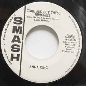 Anna King - If Somebody Told You/Come And Get These Memories