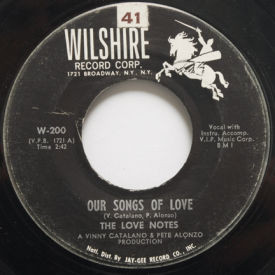 Love Notes - Our Songs Of Love/Nancy