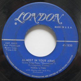 """Vera Lynn - Almost In Your Arms/Love Song From """"Houseboat"""""""