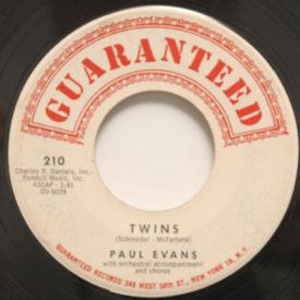 Paul Evans - Twins/The Brigade Of Broken Hearts