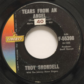 Troy Shondell - Tears From An Angel/Island In The Sky